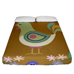 Easter Fitted Sheet (queen Size)