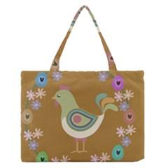 Easter Medium Zipper Tote Bag