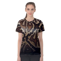 Snake Skin Olay Women s Cotton Tee