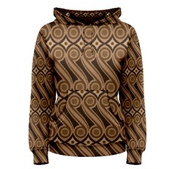 Batik The Traditional Fabric Women s Pullover Hoodie