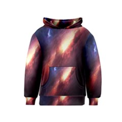 Digital Space Universe Kids  Pullover Hoodie