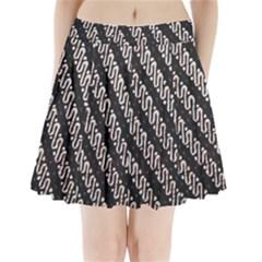 Batik Jarik Parang Pleated Mini Skirt