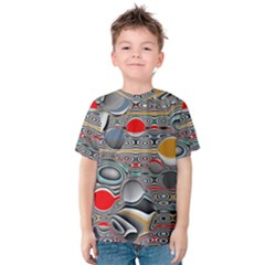 Changing Forms Abstract Kids  Cotton Tee