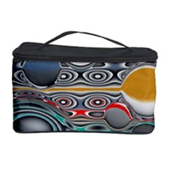 Changing Forms Abstract Cosmetic Storage Case