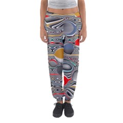 Changing Forms Abstract Women s Jogger Sweatpants
