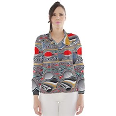 Changing Forms Abstract Wind Breaker (Women)