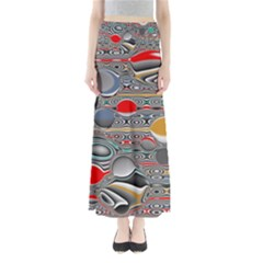 Changing Forms Abstract Maxi Skirts