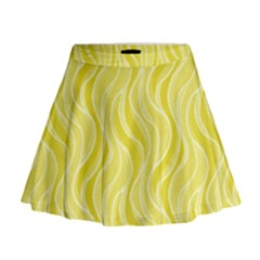 Pattern Mini Flare Skirt