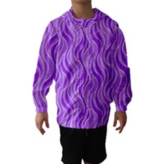 Pattern Hooded Wind Breaker (Kids)