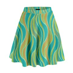 Pattern High Waist Skirt