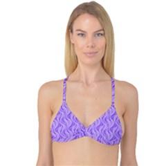 Pattern Reversible Tri Bikini Top