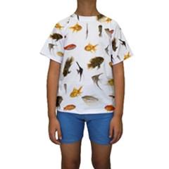 Goldfish Kids  Short Sleeve Swimwear