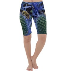 Chihuly Garden Bumble Cropped Leggings