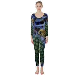 Chihuly Garden Bumble Long Sleeve Catsuit