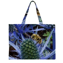Chihuly Garden Bumble Large Tote Bag