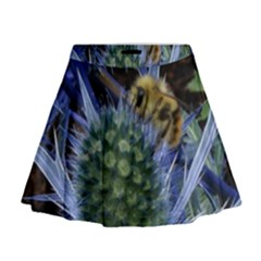 Chihuly Garden Bumble Mini Flare Skirt