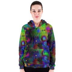 Full Colors Women s Zipper Hoodie