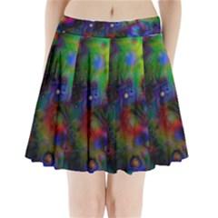 Full Colors Pleated Mini Skirt