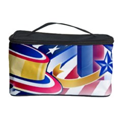 United States Of America Usa Images Independence Day Cosmetic Storage Case