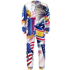 United States Of America Usa Images Independence Day OnePiece Jumpsuit (Men)