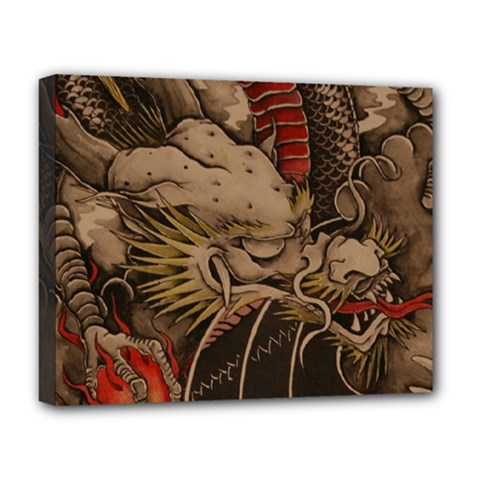 Chinese Dragon Deluxe Canvas 20  x 16