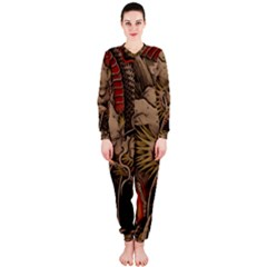 Chinese Dragon OnePiece Jumpsuit (Ladies)