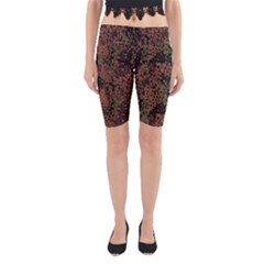 Digital Camouflage Yoga Cropped Leggings