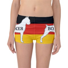 Boxer Name Silo On Flag White Reversible Bikini Bottoms