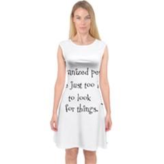 Lazy Capsleeve Midi Dress
