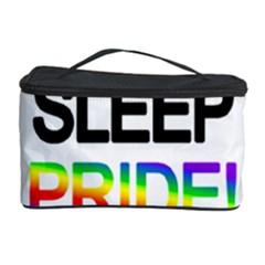 Eat sleep pride repeat Cosmetic Storage Case