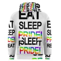 Eat sleep pride repeat Men s Pullover Hoodie