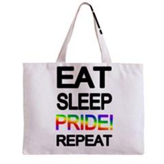 Eat sleep pride repeat Zipper Mini Tote Bag