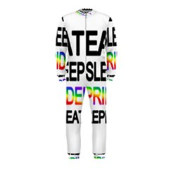 Eat sleep pride repeat OnePiece Jumpsuit (Kids)