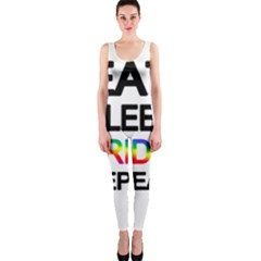 Eat sleep pride repeat OnePiece Catsuit