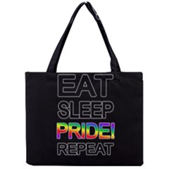 Eat sleep pride repeat Mini Tote Bag