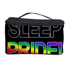 Eat sleep pride repeat Cosmetic Storage Case