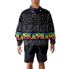Eat sleep pride repeat Wind Breaker (Kids)