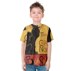 Black cat Kids  Cotton Tee
