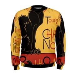 Black cat Men s Sweatshirt