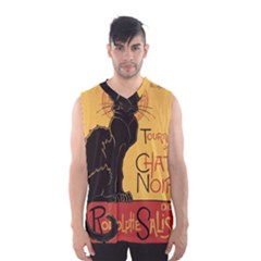 Black cat Men s Basketball Tank Top