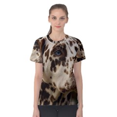 Dalmatian Liver Women s Cotton Tee