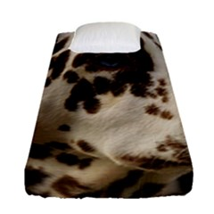 Dalmatian Liver Fitted Sheet (Single Size)