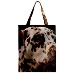 Dalmatian Liver Zipper Classic Tote Bag