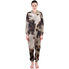 Dalmatian Liver Hooded Jumpsuit (Ladies)