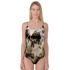 Dalmatian Liver Camisole Leotard