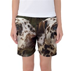 Dalmatian Liver Women s Basketball Shorts