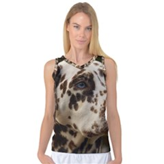 Dalmatian Liver Women s Basketball Tank Top
