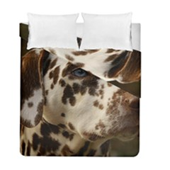Dalmatian Liver Duvet Cover Double Side (Full/ Double Size)