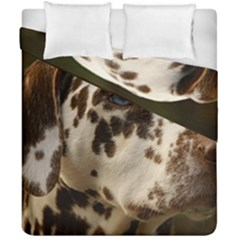 Dalmatian Liver Duvet Cover Double Side (California King Size)
