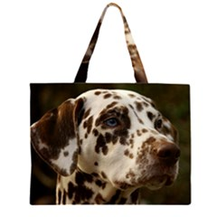 Dalmatian Liver Large Tote Bag